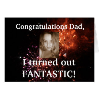 Funny Fathers Day Card - Add your own photo!