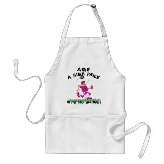 Funny Father's Day Football Dad Standard Apron