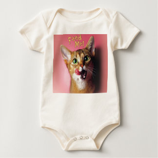 Funny Feed Me! Infant Organic Creeper