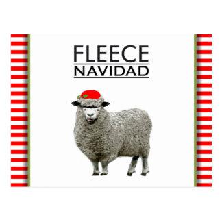 Funny Feliz Navidad Postcard