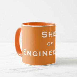 Funny Female Engineer Nickname -She of Engineering Mug