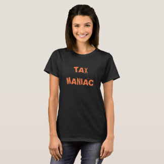 Funny Female Tax Accountant Joke Tax Nickname T-Shirt