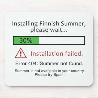 Funny Finnish Summer mousepad