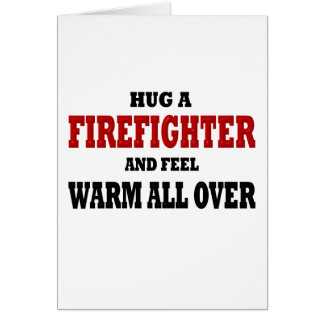 Funny Firefighter Card