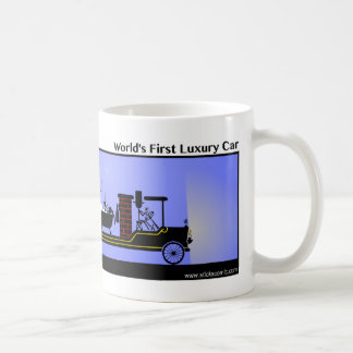 Funny First Luxury Car Stickman Mug - 128