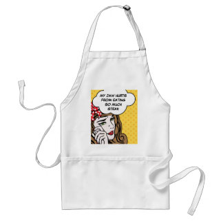 Funny first world problems cook standard apron