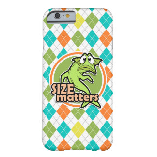 Funny Fish; Colorful Argyle Pattern Barely There iPhone 6 Case