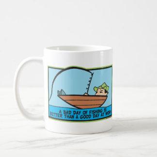 Funny Fisherman's Coffee Mug