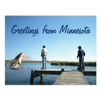 Funny Fishing Postcards