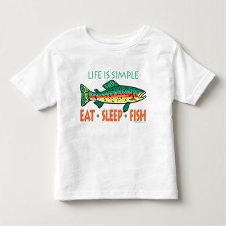 Funny Fishing Saying Toddler T-Shirt