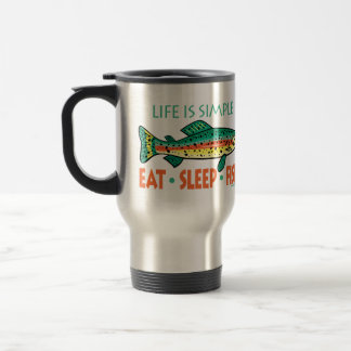 Funny Fishing Saying Travel Mug