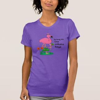 Funny Flamingo/Cabana Boys T-Shirt