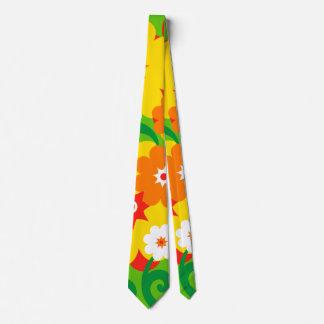 Funny Flower Power Wallpaper Tie