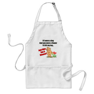 Funny Flower Shower T-shirts Gifts Standard Apron
