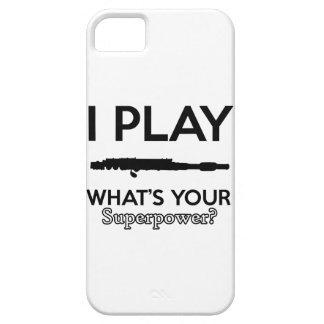 funny flutes design iPhone 5 case