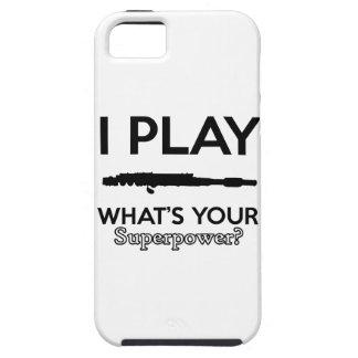 funny flutes design tough iPhone 5 case
