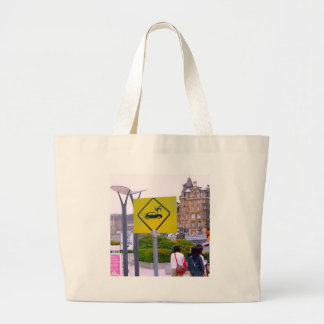 Funny Flying People Bag