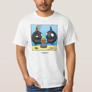 "Funny ""Foggy Bottom"" Cartoon Tee Shirt"