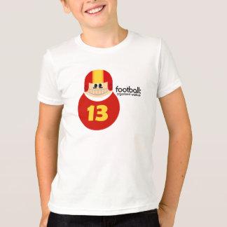 Funny Football Player Tee Shirt