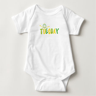 Funny for body tuesday baby bodysuit