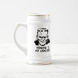 Funny Frankenstein Halloween Beer Stein/Mug Beer Stein