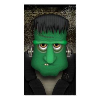 Funny Frankenstein Halloween Costume Business Cards