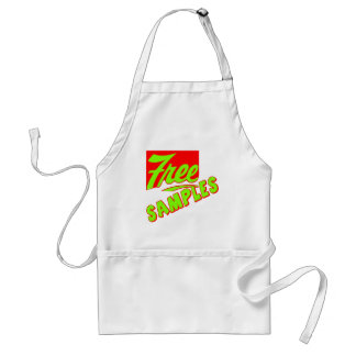 Funny Free Samples T-shirts Gifts Adult Apron