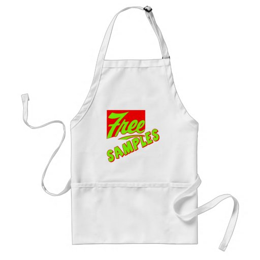 Funny Free Samples T-shirts Gifts Aprons