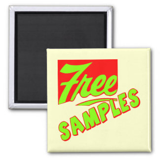 Funny Free Samples T-shirts Gifts Fridge Magnet