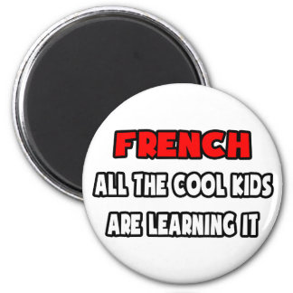 Funny French Teacher Shirts and Gifts Refrigerator Magnets