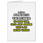 Funny French Teacher T-Shirts and Gifts