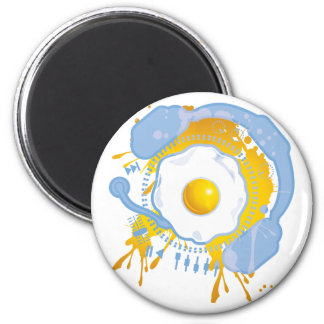 Funny_Fried_Egg Magnet