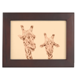 Funny Friends, Giraffes Keepsake Box