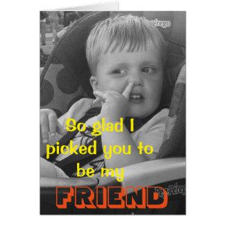 Funny friendship Card