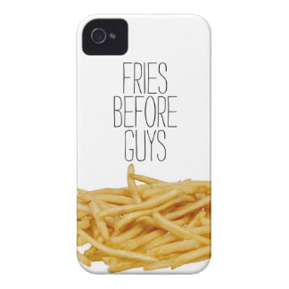 Funny fries before guys hipster humor girly girl iPhone 4 covers