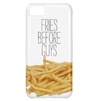 Funny fries before guys hipster humor girly girl case for iPhone 5C