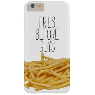 Funny fries before guys hipster humor girly girl barely there iPhone 6 plus case