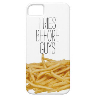 Funny fries before guys hipster humor girly girl iPhone 5 case