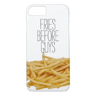 Funny fries before guys hipster humor girly girl iPhone 7 case