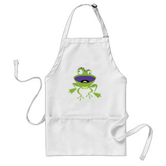 Funny Frog Apron