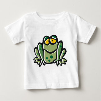 Funny Frog Cartoon Baby T-Shirt