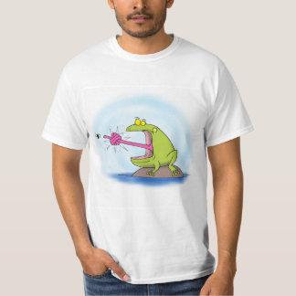 Funny frog cartoon. T-Shirt