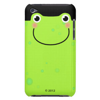 Funny Frog Face Barely There iPod Case