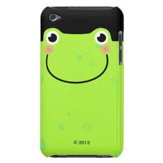 Funny Frog Face iPod Case-Mate Case