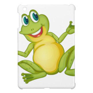 funny frog iPad mini covers