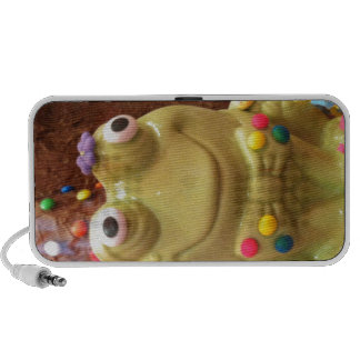 Funny Frog iPhone Speaker