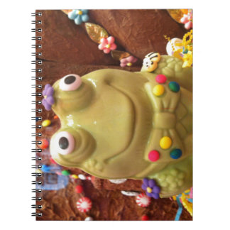 Funny Frog Spiral Note Books