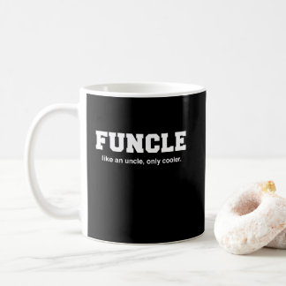 Funny Funcle College Print Coffee Mug