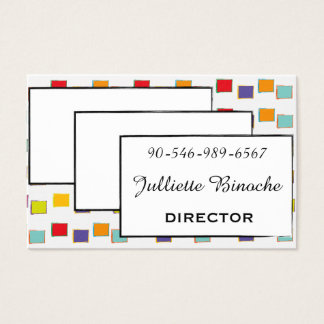 FUNNY FUNKY BUSINESS CARD