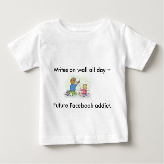 "Funny ""Future Facebook Addict"" T-Shirt for Kids"
